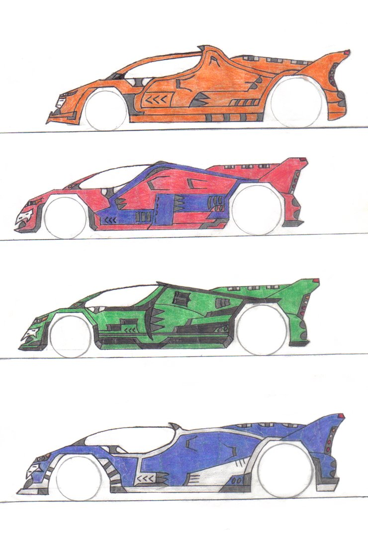 740x1080 Futuristic Car Drawings By Reilans