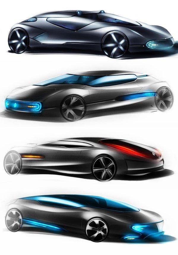600x857 Futuristic Cars By Paulo78