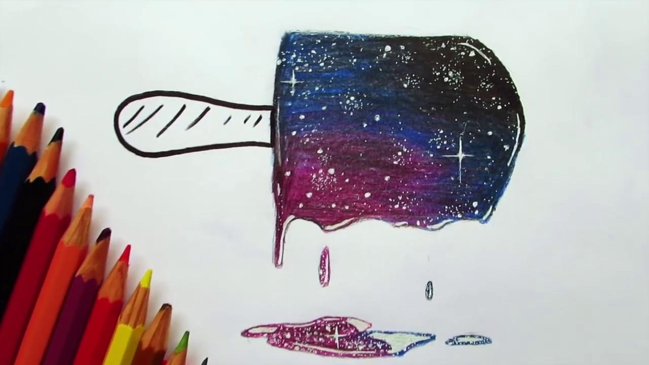 1280x720 How To Draw Galaxy Wcheap Pencils Emre