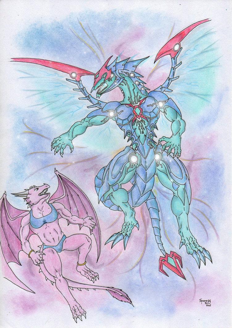 751x1063 Alexia Vs. Galaxy Eyes Photon Dragon By Spere94