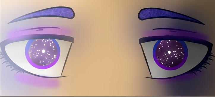724x327 Galaxy Eyes (Drawing Credit @gamer Geek101) (Also I'M Pretty Sick