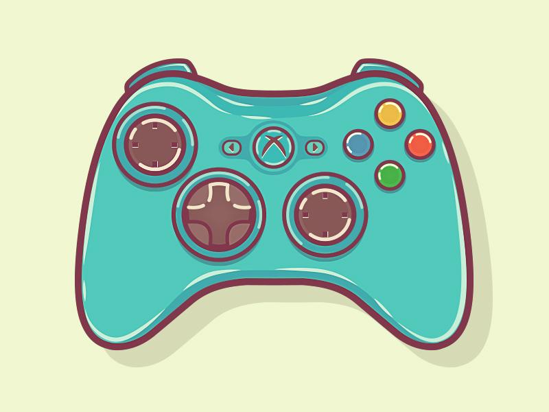 800x600 Xbox 360 Controller Xbox 360 Controller, Xbox And Illustrations