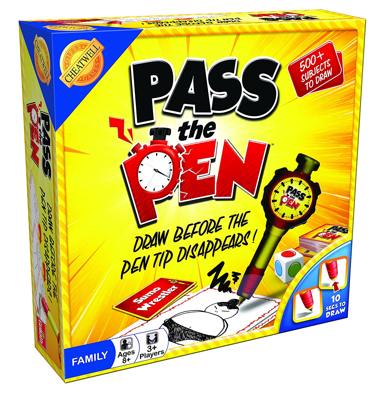 1437x1500 Cheatwell Games 01784 Pass The Pen Drawing Game Amazon.co.uk