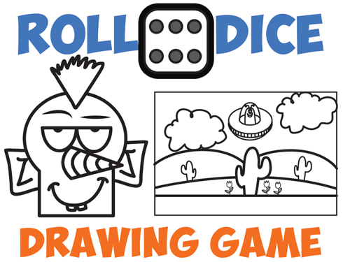 500x375 Drawing Games For Kids Roll The Dice Drawing Game