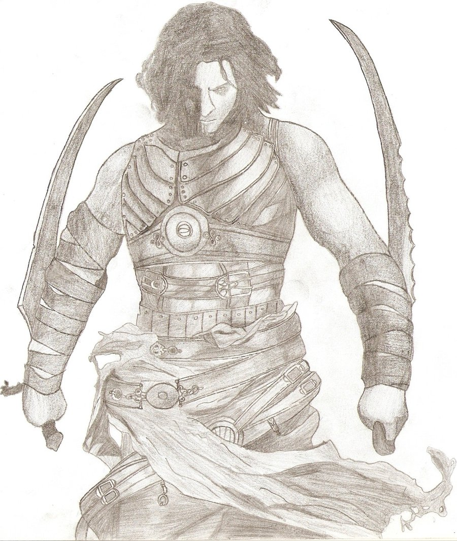 900x1064 Prince Of Persia Warrior Within