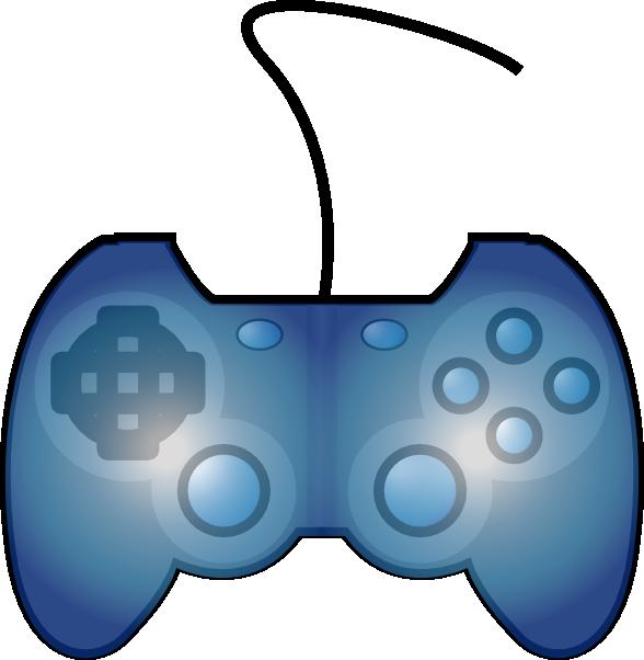 588x602 Joypad Game Controller Clip Art