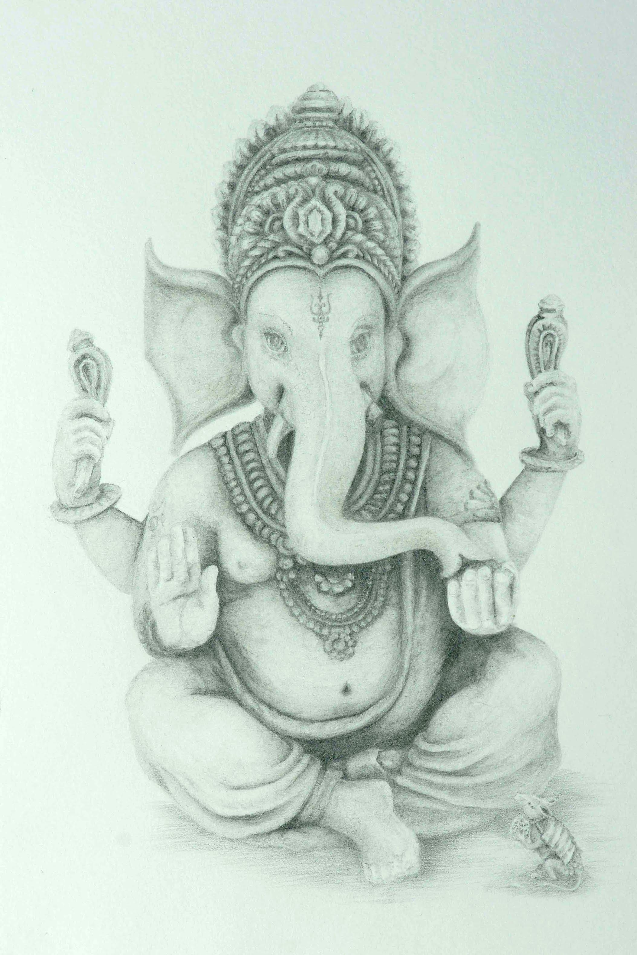 2107x3160 Pics Of Pencil Sketch Ganesh Drawing Lord Ganesha Fine Art Pencil