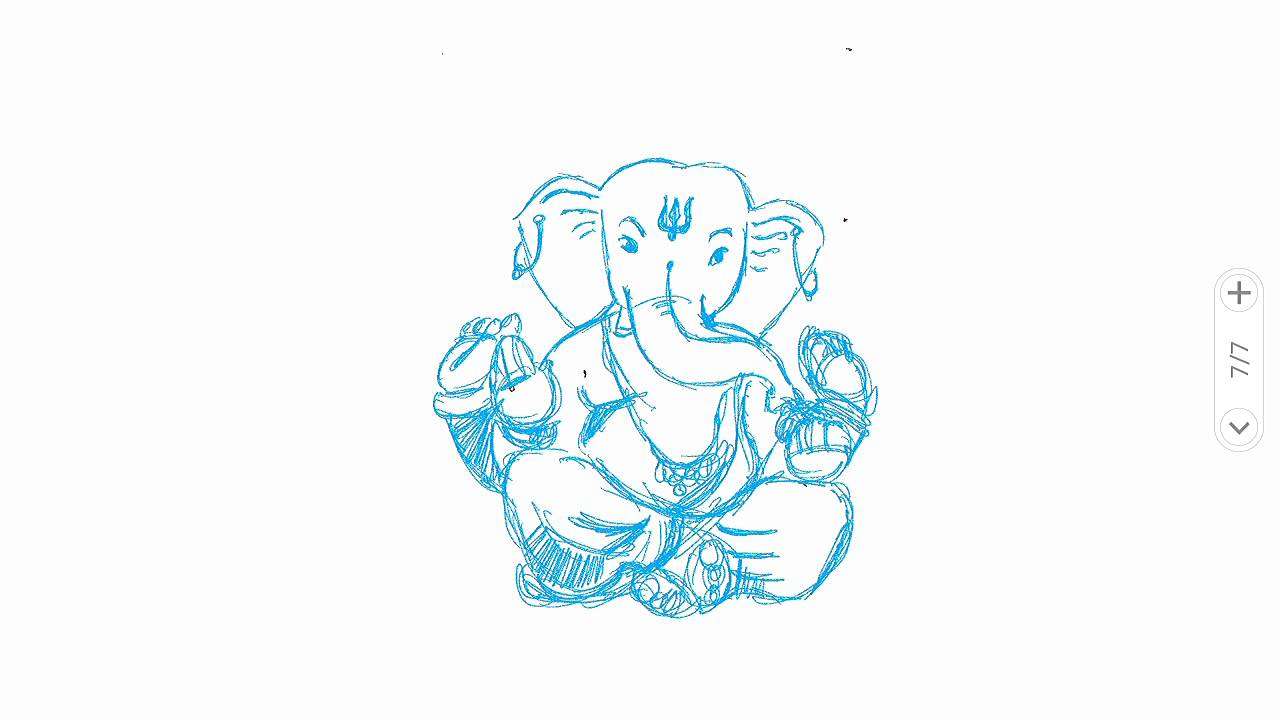 1280x720 Shree Ganesha, Ganpati, Ganesh Painting, Ganesh Drawing, Ganesha