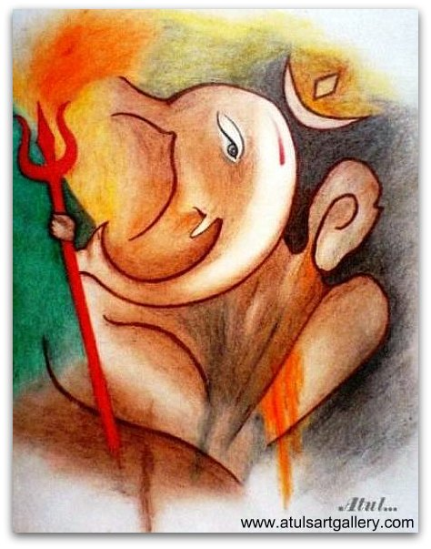 474x603 Atuls Art Gallery Blog Archive Ganesha