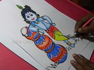 320x240 How To Draw Hindu God Lord Ganesha Drawing Step By Step For Kids