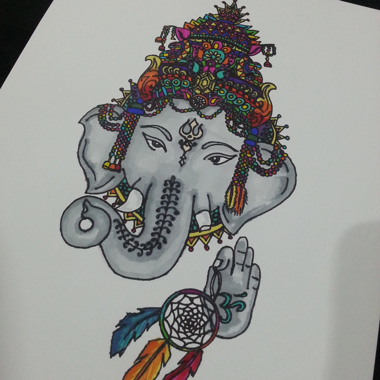 2448x2448 Ganesha Drawing Deeper Than Fashion