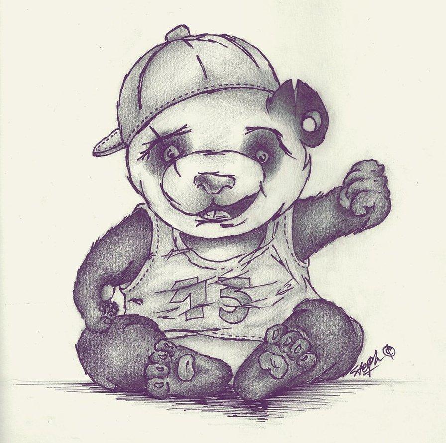 896x891 Panda Gangsta By Stephaddiction