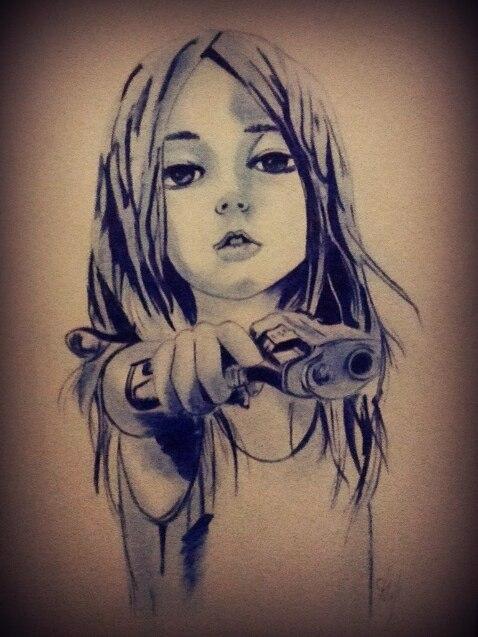 478x637 Gangsta Girl By 4darkop5