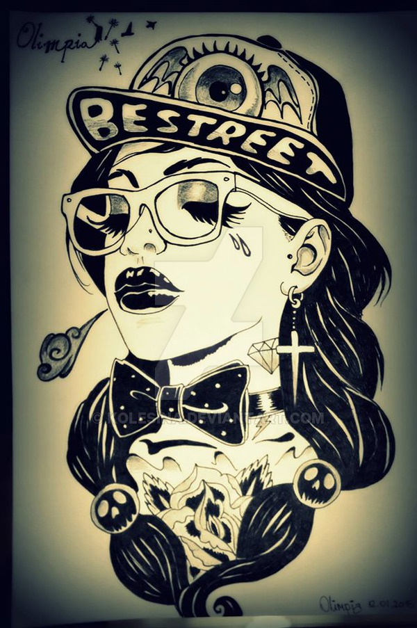 600x903 Gangsta Girl By Kolesina