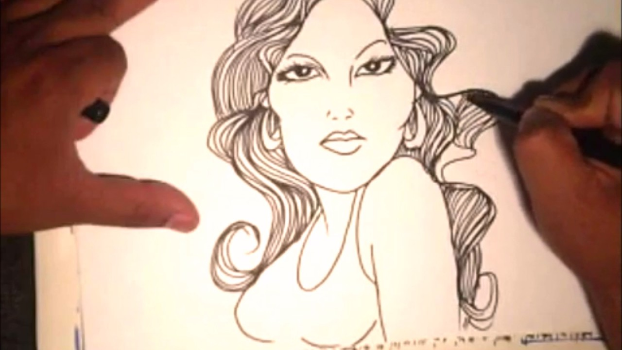 1280x720 How To Draw A Beautiful Gangsta Girl
