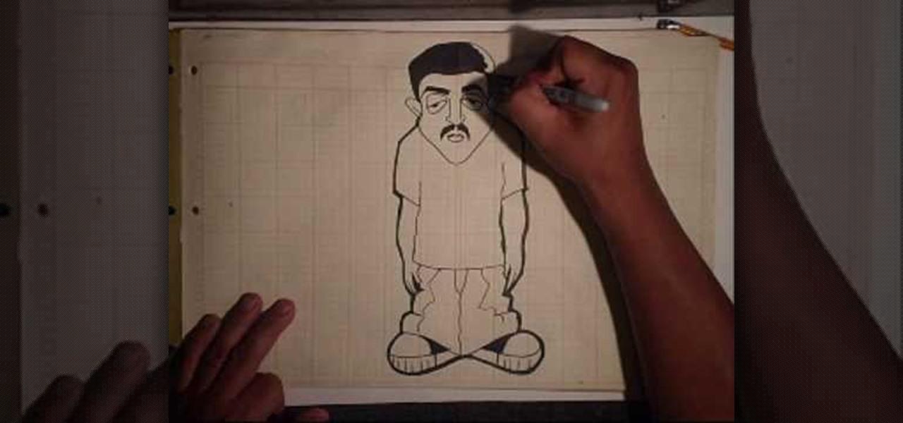 1280x600 How To Draw A Gangsta Character Graffiti Amp Urban Art Wonderhowto