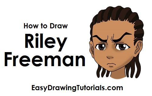 500x315 To Draw Riley Freeman