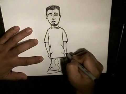 480x360 How To Draw A Simple Character (Step By Step)