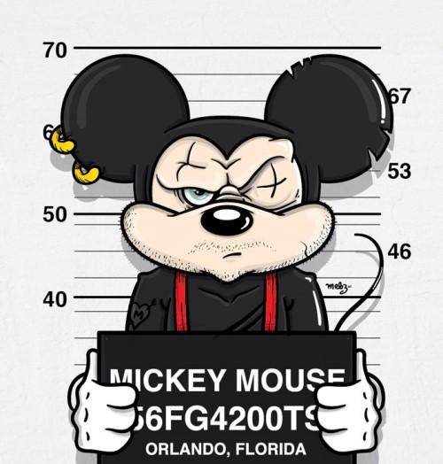 500x524 Mickey Mouse Mugshot Cartoons Amp Comics Mickey