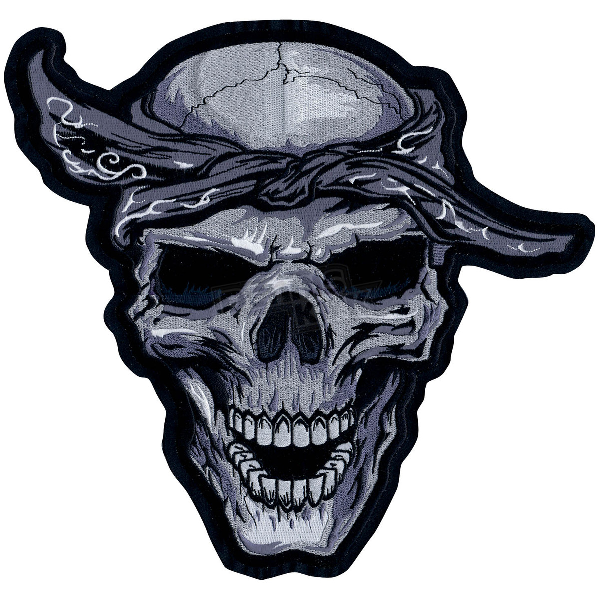 1200x1200 Gangster Skull With Bandana Chainimage