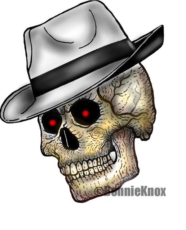 600x743 Skull Gangster Tattoo Drawings Gangster Skull Drawings Skulls