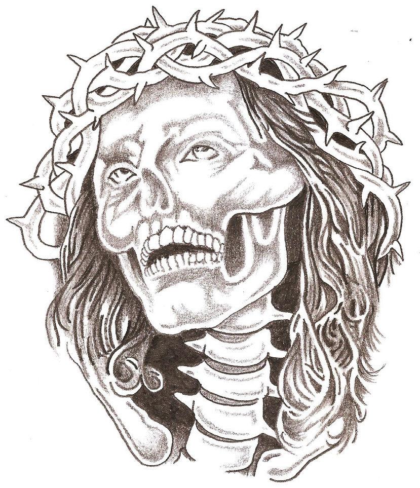829x963 Gangster Tattoo Art Related Gangsta Skulls Drawings Gangsta