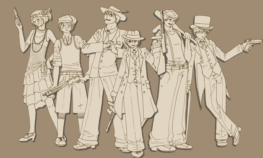 900x540 1920s Gangsters Wip By Luffys Gurl