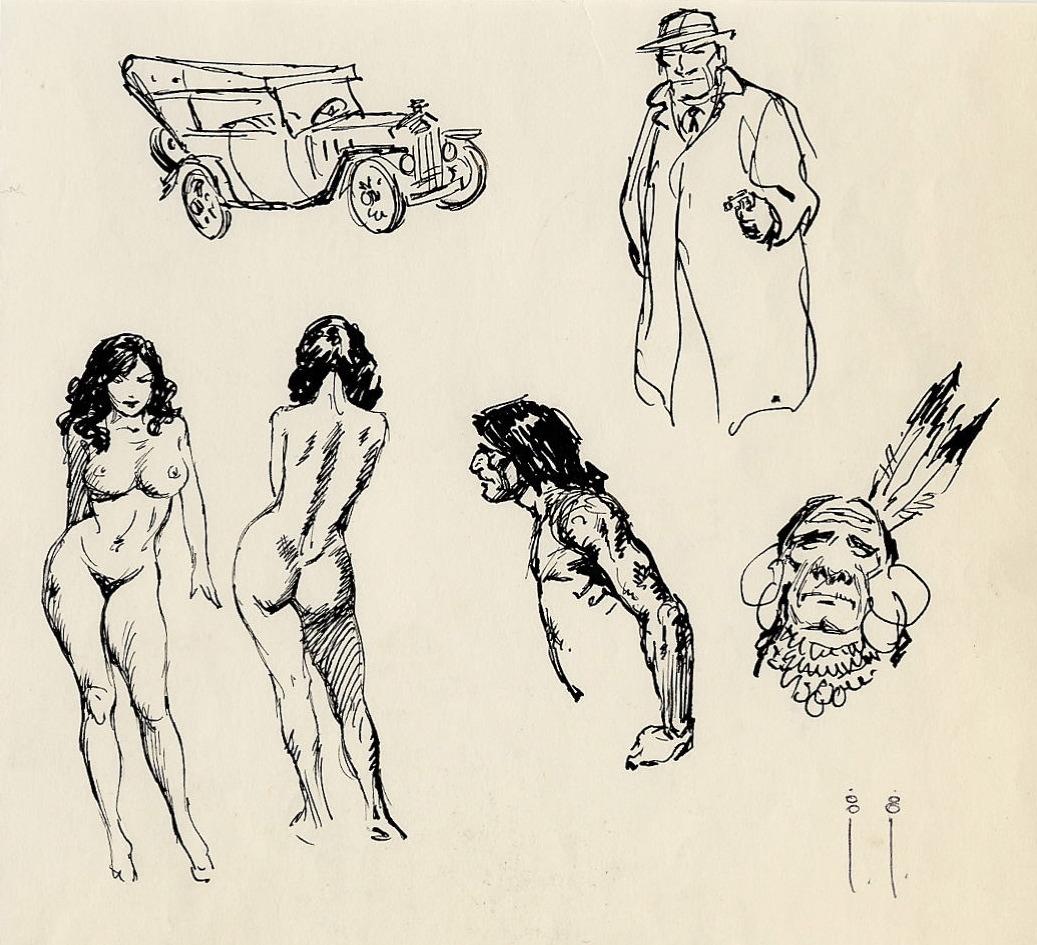 1037x945 Drawings Of Gangsters Drawn Cross Gangster