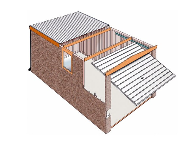 Lovely 640x480 Concrete Garages