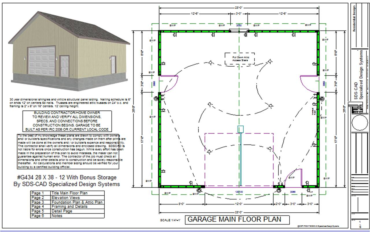 Free Online Garage Design Program: Garage Drawing At GetDrawings.com