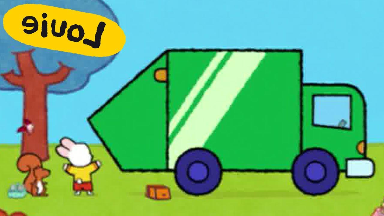 1280x720 Garbage Truck Dustbin Lorry