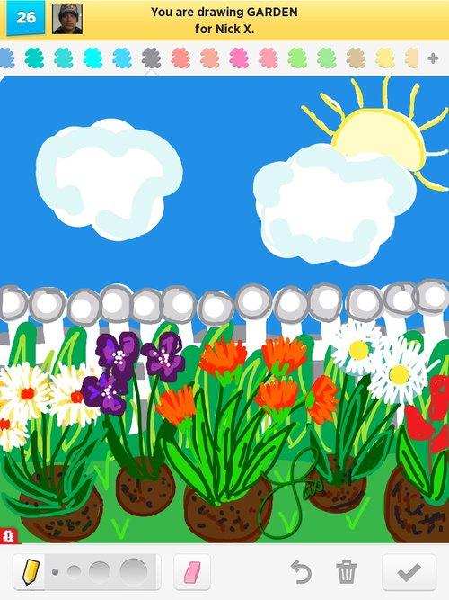 500x667 Garden Drawings