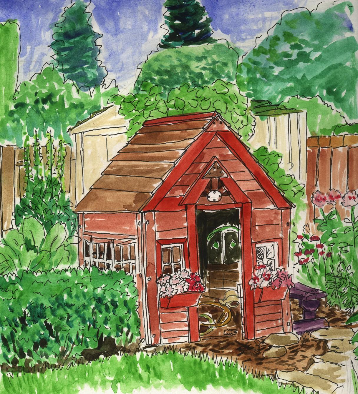 1216x1339 My Garden Drawing Pictures Magielinfo For Kids ~ Garden Trends