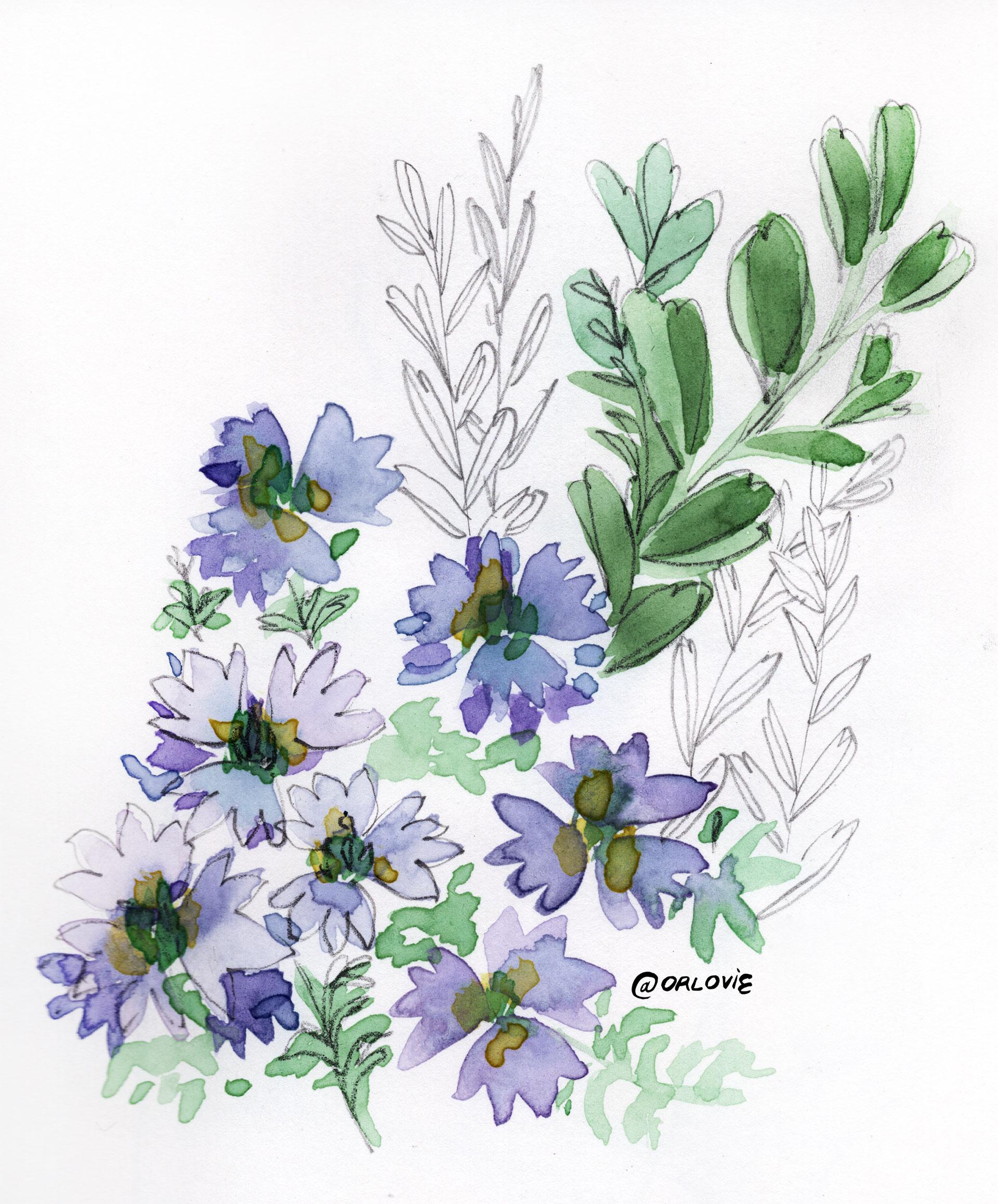 1920x2316 Drawing In The Fairy Garden C'Est La Vie Orlovie