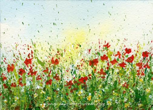505x363 Fingerprint Garden Flowers Are Made From Childrens Fingerprints