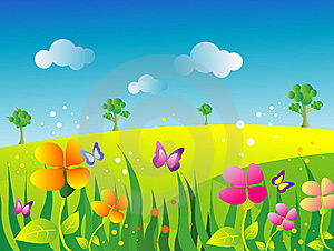 300x226 Garden Drawing For Kids Xvfpar Decorating Clear