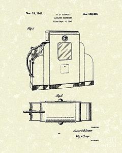 240x300 Gas Pump Drawings Fine Art America