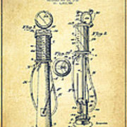 180x180 Gas Pump Patent Drawing From 1930