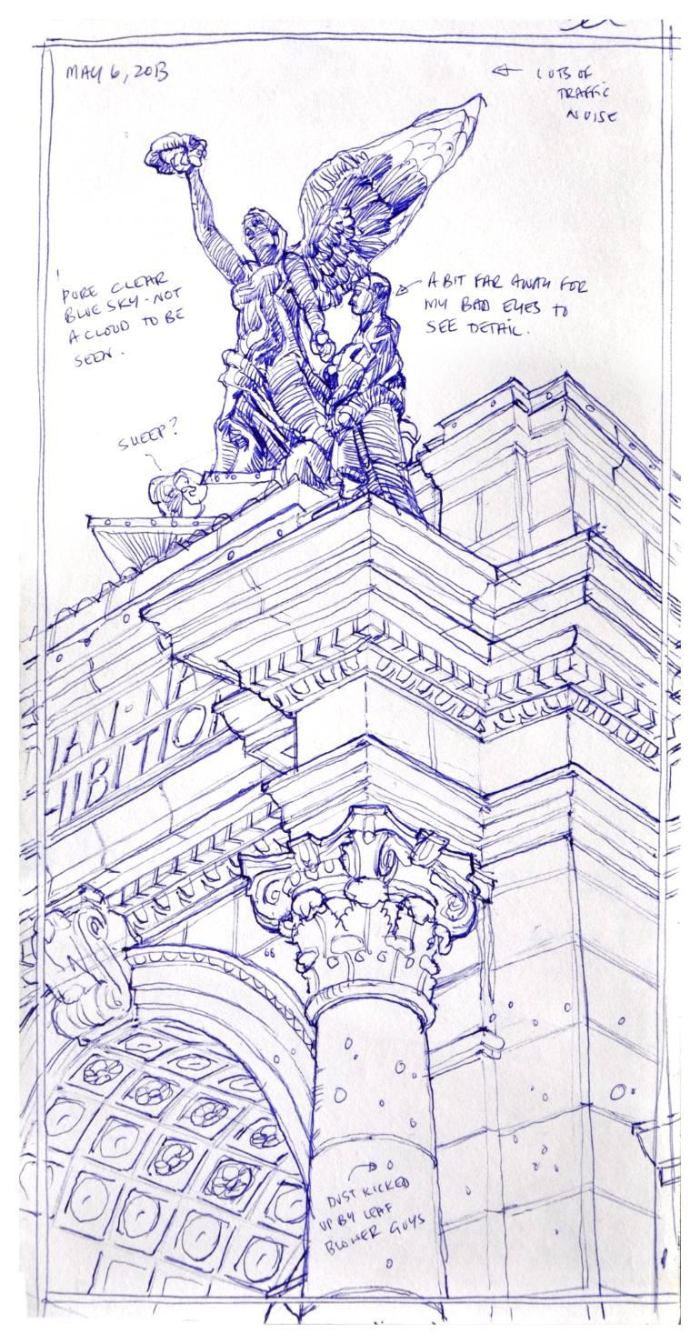 770x1478 Saatchi Art Princes' Gate Drawing By Richard Johnson