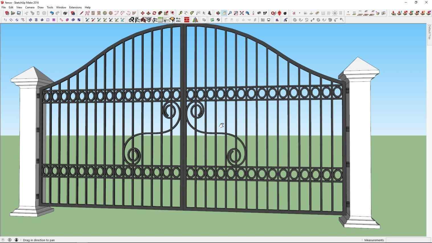 1517x853 Open Gate Drawing 2018