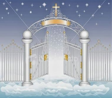380x333 Pearly Gates Of Heaven Jesus And A Carpenter