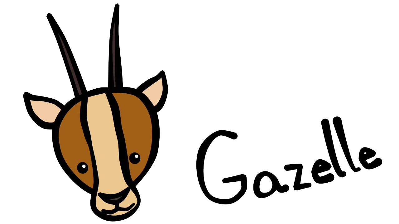 1280x720 Cute And Quick 2.0 How To Draw A Gazelle