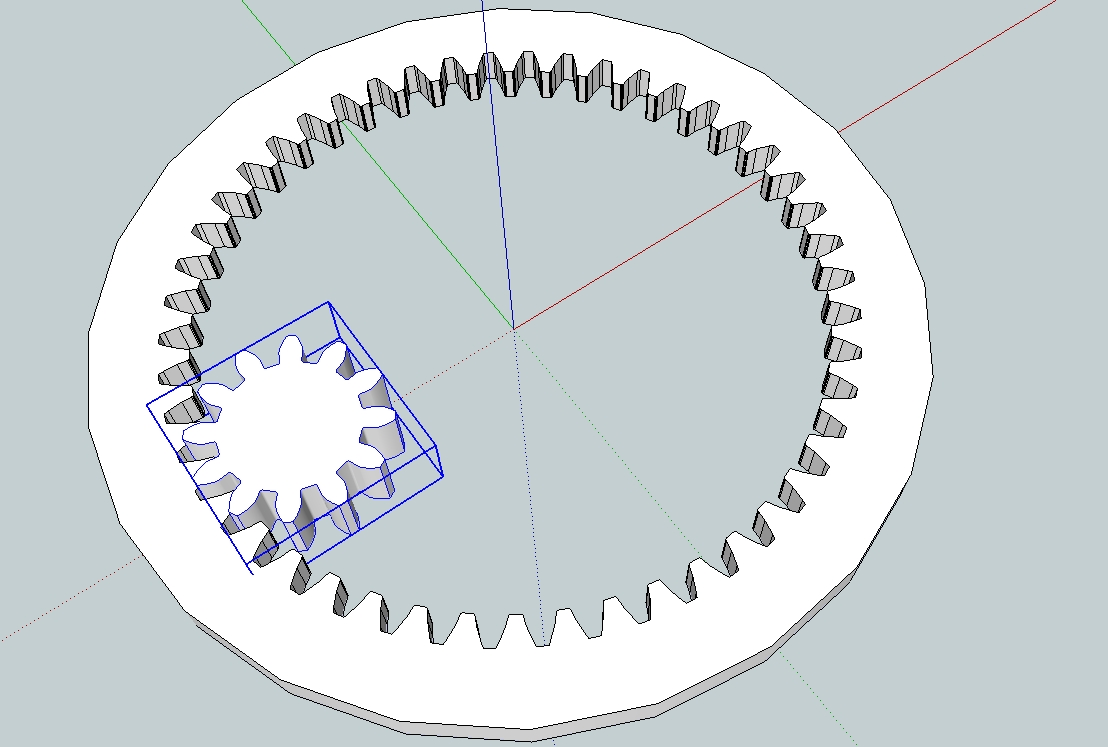 1108x747 Drawing Gears In Sketchup. Capolight Electronics Projects.