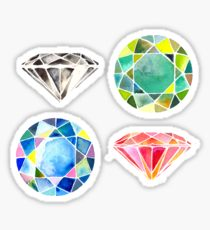 210x230 Gemstone Drawing Stickers Redbubble