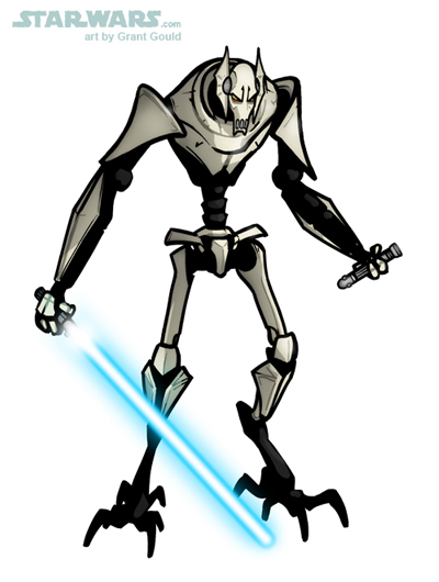 400x530 Draw General Grievous From The Clone Wars By Grantgoboom