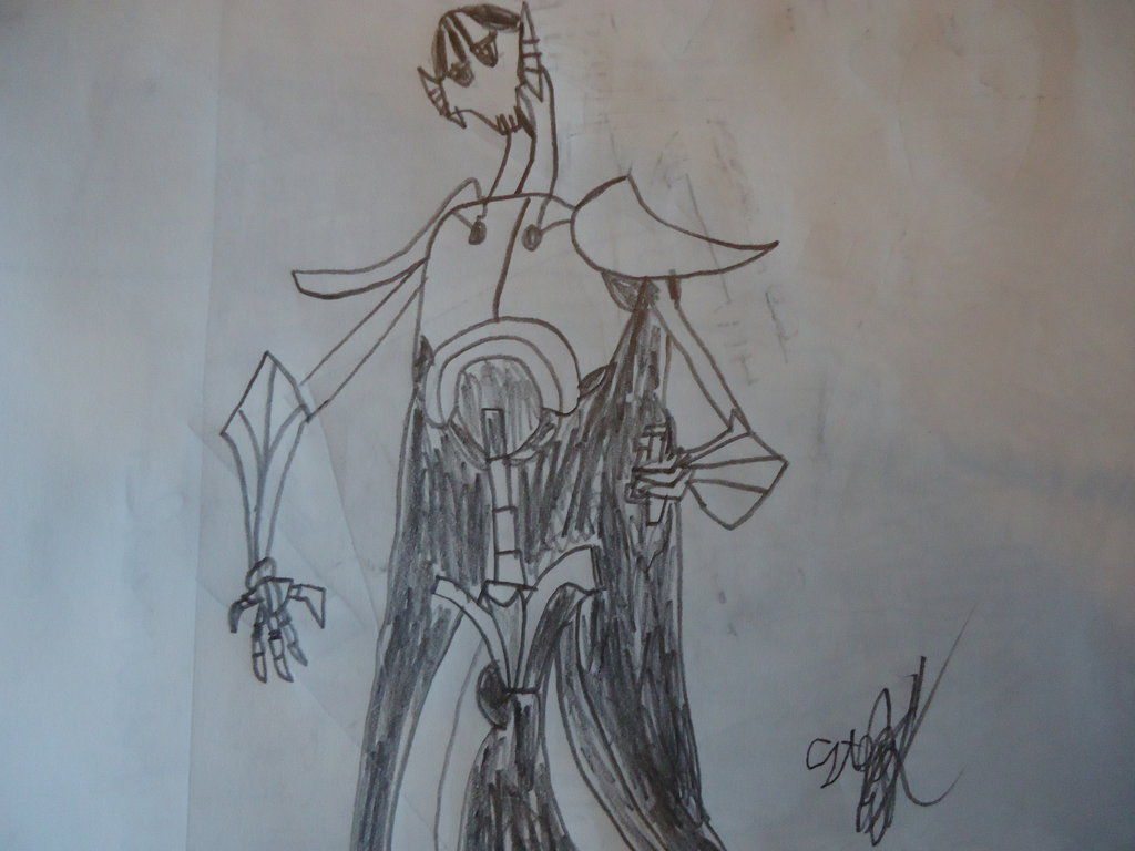1024x768 General Grievous Drawing By Biostratos