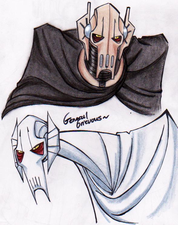 588x744 General Grievous Morning Doodles By Purplerage9205