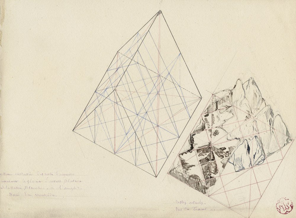 1000x738 Architecture Amp Geology Drawings Drawing Matter