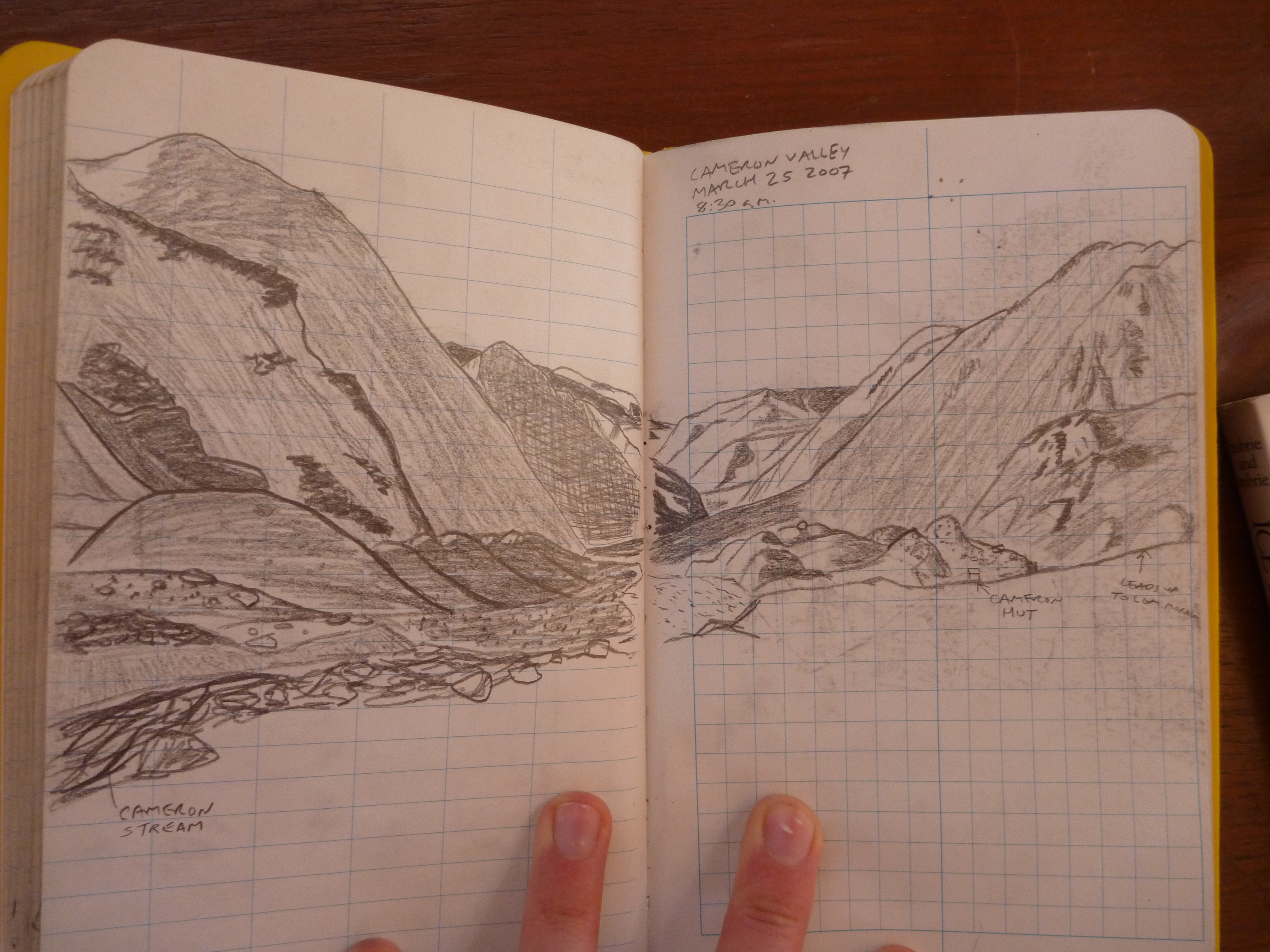 4320x3240 Art And Geology Rock Paper Glacier!