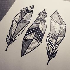 236x236 Geometric Drawings Animals Black And White